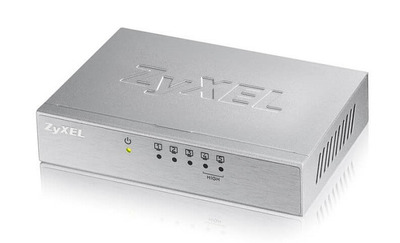 Коммутатор Zyxel ES-105A v3, 5 портов 100 Мбит/с, настольный, металлический корпус