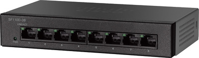 SF110D-08 8-Port 10/100 Desktop Switch