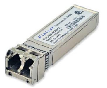 Finisar FTLX8574D3BCV SR 1G/10G Multimode 10G/1G Dual Rate (10GBASE-SR and 1000BASE-SX) 400m Multimode Datacom SFP+ Optical Transceiver EIC#FTLX8574D3BCV