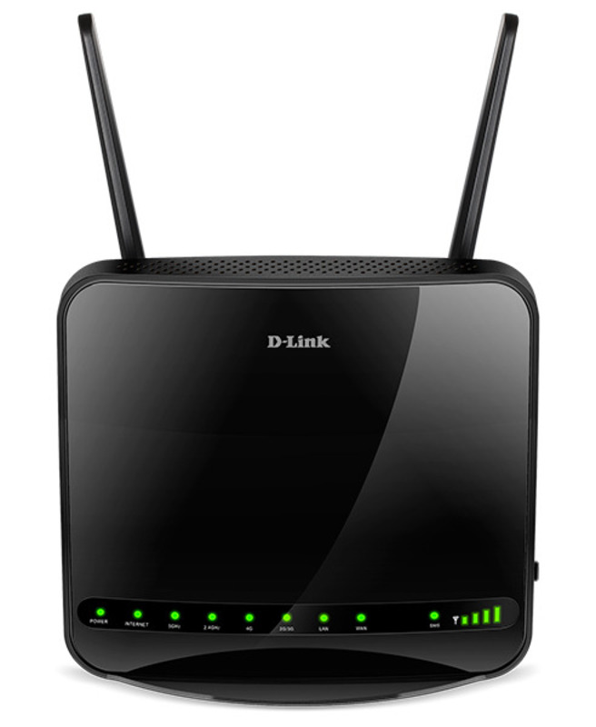 """""""D-Link DWR-953, Wireless AC1200 4G LTE Router with 1 USIM/SIM Slot, 1 10/100/1000Base-TX WAN port, 4 10/100/1000Base-TX LAN ports.802.11b/g/n/ac compatible, 802.11AC up to 866Mbps, 802.11n up to 30"""