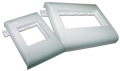 Пластиковый суппорт 45Х90, безвинтовой на защелках, в короб 100 мм