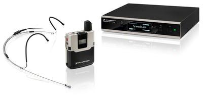 Sennheiser SL HEADMIC SET DW-3-EU R Беспроводная система SL DW с головным микрофоном. Инсталляционный вариант с рэковым креплением.