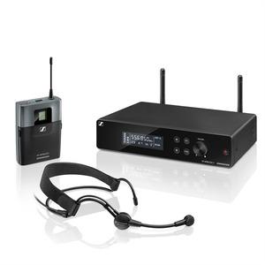 Sennheiser XSW 2-ME3-A Презентационная РЧ-система, 548-572 МГц, 12 каналов, рэковый приёмник, поясной передатчик, головной микрофон ME3-II