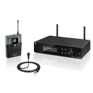 Sennheiser XSW 2-ME2-A Презентационная РЧ-система, 548-572 МГц, 12 каналов, рэковый приёмник, поясной передатчик, петличный микрофон ME2-2