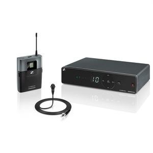 Sennheiser XSW 1-ME2-A Презентационная РЧ-система, 548-572 МГц, 10 каналов, настольный приёмник, поясной передатчик, петличный микрофон ME2-2