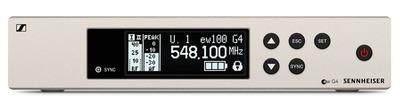 Sennheiser EW 100 G4-835-S-A Беспроводная РЧ-система, 516-558 МГц, 20 каналов, рэковый приёмник EM 100 G4, ручной передатчик SKM 100 G4-S с кнопкой. Динамический кардиоидный капсюль MMD835-1.