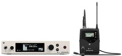 Sennheiser EW 500 G4-MKE2-AW+ Беспроводная РЧ-система, 470-558 МГц, 32 канала, рэковый приёмник EM 300-500 G4, поясной передатчик SK 500 G4, петличный микрофон MKE-2, круговая диаграмма направленности