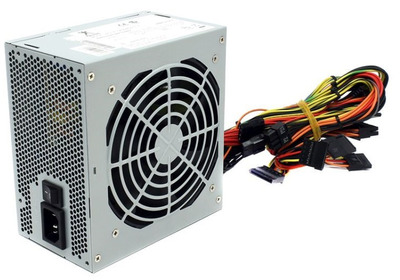 INWIN Power Supply 600W (Recommended for Servers TS-4U PE689 IW-R400) IP-S600BQ3-3 600W 12cm sleeve fan, v. 2.31, Active PFC, with power cord