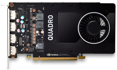 PNY Nvidia Quadro P2200 5GB GDDR5, 160-bit, PCIEx16 3.0, DP 1.4 x4, Active cooling, TDP 75W, FP, Retail