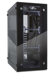 Корпус ATX Eurocase F8 без БП закаленное стекло USB3.0
