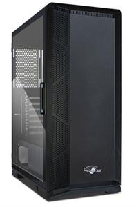 Корпус ATX Eurocase K517 без БП закаленное стекло USB3.0