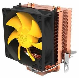 PCCooler S83 V2 S775/115X/AM2/AM3/AM4/FM1/FM2 (48 шт/кор, TDP 90W, вент-р 80мм, 2 тепловые трубки 6мм, 2200RPM, 20dBa) Retail Color Box