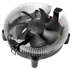 PCCooler E80 S775/115X/AM2/2+/AM3/3+/AM4/FM1/FM2/754/939/940 (72 шт/кор, TDP 65W, вент-р 80мм, 2200RPM, 22dBa) Retail Color Box
