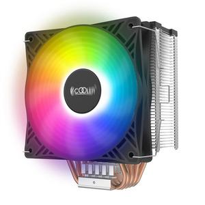 PCCooler GI-X4S S775/115X/20XX/AM2/AM3/AM4 (24 шт/кор, TDP 145W, 120mm PWM LED FAN, 4 тепловые трубки 6мм, 800-1600RPM, 18-30,8dBa)
