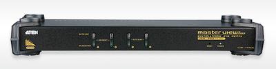 ATEN 4 PORTS KVM&USB MAX FOR PS/2 W/230V ADP.