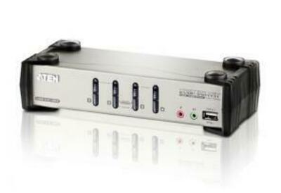 ATEN 4 Port USB2.0 KVMP Switch with OSD.