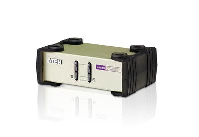 ATEN CUBIQ 2 PORT USB & PS/2 KVM SWITCH