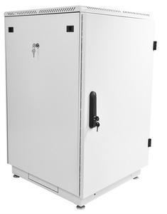 Шкаф телекоммуникационный напольный 18U (600x800) дверь металл (2 места)