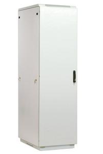 Шкаф телекоммуникационный напольный 42U (600x600) дверь металл (3 места)