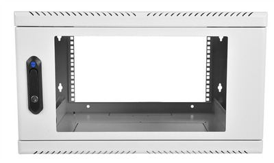 Шкаф телекоммуникационный настенный 9U, 600x500мм, В=500мм, дверь стекло
