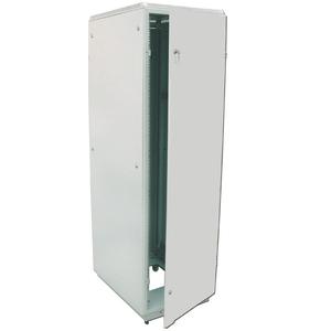 Шкаф телекоммуникационный напольный 18U (600x600) дверь металл (2 места)