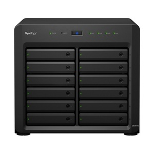 Synology DS3617xs QC2,2GhzCPU/2x8Gb(up to 48)/RAID0,1,10,5,6/up to 12hot plug HDDs SATA(3,5' or 2,5') (up to 36 with 2xDX1215)/2xUSB3.0/4GigEth(2x10Gb opt)/iSCSI/2xIPcam(up to 75)/1xPS/5YW