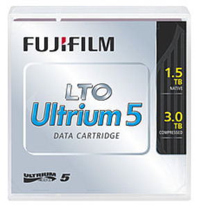Fujifilm Ultrium LTO5 RW 3TB (1,5Tb native) bar code labeled Cartridge (for libraries & autoloaders) (analog C7975A + Label)