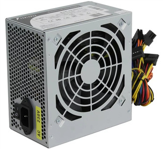 Powerman Power Supply 600W PM-600ATX-F-BL (Black)