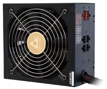 Chieftec PSU APS-750CB EPS12V 750W Cable Manag APFC Retail 14cm Fan, 85+, Fix 24,4+4,4+4 Cab Manag 2x(6+2), MolexX2+fdd, 3x(SATAx3),4x(6+2)