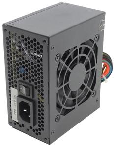 Блок питания Aerocool 400W SX-400, SFX, 24-Pin, 4+4-Pin, 3x SATA, 1x MOLEX, 80-mm fan