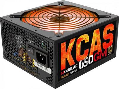Блок питания Aerocool 650W Retail KCAS-650GM, модульный, ATX v2.4, 80+ Gold, 4+4-Pin, 2x PCI-E (6+2-Pin), 7x SATA, 4x MOLEX, 14-см c RGB подсветкой