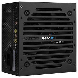 Aerocool 350W Retail VX PLUS 350 ATX v2.3 Haswell, fan 12cm, 500mm cable, power cord, 20+4P, 4+4P, PATA x2, SATA x2, FDD