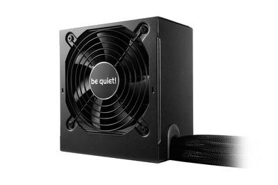 be quiet! SYSTEM POWER 9 400W / ATX 2.4 / Active PFC / 80+ BRONZE / 2xPCIE6+2pin / 120mm fan / BN245 / RTL