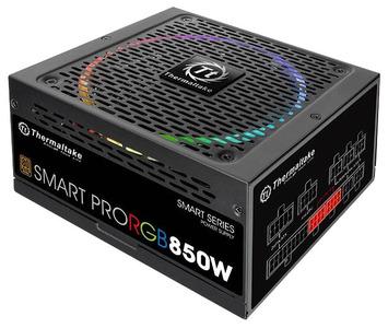 Блок питания Thermaltake PS-SPR-0850FPCBEU-R, SMART PRO/Fully Modular/850W/ATX 2.3 & EPS 2.92/A-PFC/14cm RGB Fan/EU/80Plus Bronze RTL