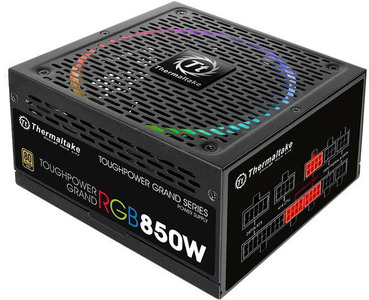 Блок питания Thermaltake PS-TPG-0850FPCGEU-R, Toughpower Grand/Fully Modular/850W/ATX 2.4 & EPS 2.92/A-PFC/14cm RGB Fan/EU/80Plus Gold RTL
