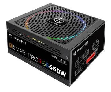 Блок питания Thermaltake PS-SPR-0650FPCBEU-R, SMART PRO/Fully Modular/650W/ATX 2.3 & EPS 2.92/A-PFC/14cm RGB Fan/EU/80Plus Bronze RTL