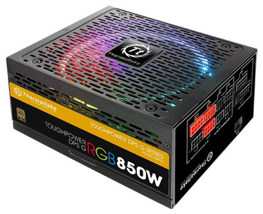 Блок питания Thermaltake PS-TPG-0850DPCGEU-R, Toughpower DPS G RGB/Fully Modular/850W/ATX 2.31 & EPS 2.92/A-PFC/14cm RGB Fan/EU/80Plus Gold RTL