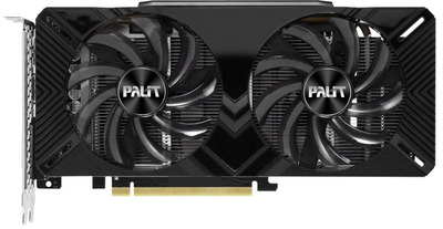 PALIT GTX1660Ti DUAL OC 6G GDDR6 192bit DVI HDMI DP // NE6166TS18J9-1160A