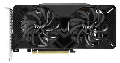 PALIT GTX1660Ti DUAL 6G GDDR6 192bit DVI HDMI DP // NE6166T018J9-1160A