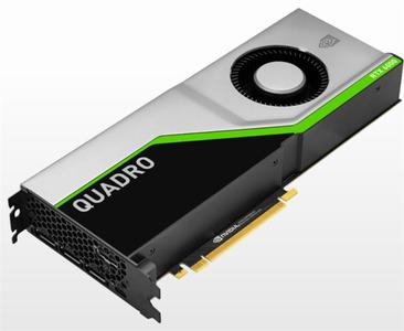 PNY Nvidia Quadro RTX6000 24GB PCI-Express x16 Gen 3.0 GDDR6 ECC 256-bit, 4608 Cuda cores, SLI , HDCP 2.2, HEVC and HDMI 2.0 support, 3x DP 1.4, 1x VirtualLink, adapters: 1x DisplayPort to DVD-D (SL