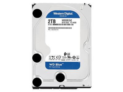Western Digital HDD SATA-III 2Tb Blue WD20EZAZ, 5400rpm, 256MB buffer (аналог WD20EZRZ)