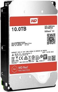 Western Digital HDD SATA-III 10000Gb Red for NAS WD100EFAX, IntelliPower, 256MB buffer