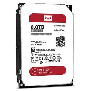 Western Digital HDD SATA-III 8000Gb Red for NAS WD80EFZX, IntelliPower, 128MB buffer