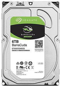 HDD SATA Seagate 6000Gb, ST6000DM003, Barracuda Guardian 5400 rpm, 256Mb buffer