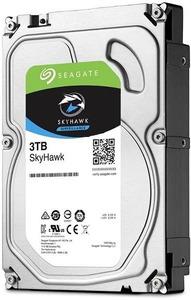 HDD SATA Seagate 3Tb, ST3000VX009, SkyHawk Guardian Surveillance, 5400 rpm, 256Mb buffer