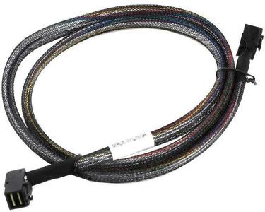 Adaptec ACK-I-rA-HDmSAS-HDmSAS-1M (2282800-R) Кабель SAS внутр., 100см., разъемы SFF8643(угловой) -to- SFF8643(угловой)