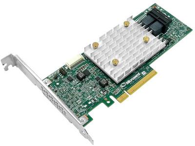 Microsemi Adaptec HBA 1100-8I (PCI Express 3.0 x8, LP, MD2), SAS-3 12G, 8port(int2*SFF8643), Каб.отдельно