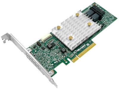Microsemi Adaptec HBA 2100-8I (PCI Express 3.0 x8, LP, MD2), SAS-3 12G, RAID 0,1,10,5, 8port(int2*SFF-8643), Каб.отдельно