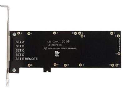 LSI BBU-BRACKET-05 панель для установки BBU07, BBU08, BBU09, CVM01, CVM02 в PCI-слот, для контроллеров серий MegaRAID 9260, 9271, 9361, 9380, 9460, 9480 (LSI00291 / L5-25376-00 )