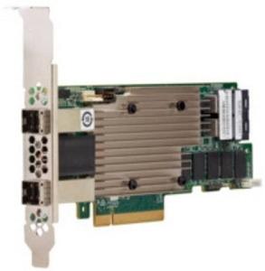 LSI MegaRAID SAS9480-8i8e (05-50031-00) (PCI-E 3.1 x8, LP) Tri-Mode SAS/SATA/PCIe(NVMe) 12G, RAID 0,1,5,6,10,50,60, 16port (2*intSFF8643 + 2*extSFF8644), 4GB onboard, Каб.отдельно